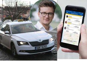 Řešení současné krize v taxislužbě by podle ředitele společnosti Liftago Ondřeje Krátkého mohlo být jednoduché.