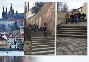 Na Pražský hrad vedou Zámecké schody. Jak se k tomu přišlo?