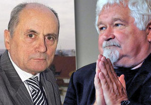 Expremiéři: Ján Čarnogurský a Petr Pithart