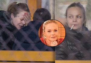 Známá herečka Sabina Králová skončila na léčení v Bohnicích.