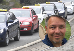 Robert Faltýnek okomentoval taxikářské protesty i situaci kolem Uberu.