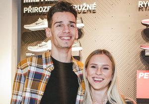 Mariana Prachařová s přítelem