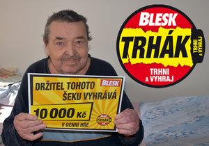 Vítěz Trháku Evžen Doubrava (83) žije v pečovatelském domě v Milevsku: 10 tisíc na počítač či kávovar?