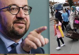 Belgie hrozí Česku: Pokud nepřijmete migranty, vnutíme vám kvóty silou