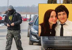 Záběry z místa činu: V téhle ulici někdo zastřelil slovenského novináře a jeho přítelkyni.