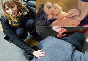 Šárka Vaculíková si zahrála mrtvolu v seriálu Specialisté