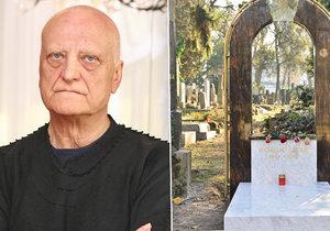 Zesnulý architekt Šípek se po dvou letech dočkal hrobu.