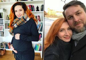 Moderátor zpráv Hauptvogel prozradil pohlaví dítěte! Manželka chce rodit podle kozy.