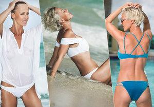Svůdná Zuzana Belohorcová na pláži