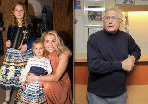 Olga Menzelová se pochlubila svými krásnými dcerami.