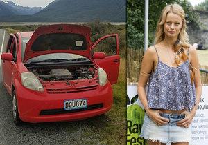 Helena Houdová v slzách: Porouchalo se jí auto! S dětmi uvázli na Novém Zélandu.