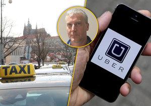 Taxikáři budou protestovat, dokud se v ulicích Prahy nezačne vymáhat zákon.