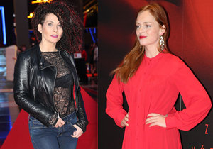 Celebrity vyrazily na Rudou volavku: Vyprsená Decastelo a Geislerová dráždila v červené!
