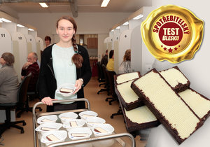 "Blesk testoval čokoládové a kakaové ""tatranky""."