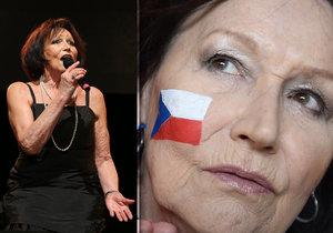 Zpěvačka vystoupí na koncertě k výročí republiky.