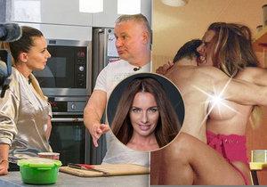 Bendová si pozvala Kajínka domu. Dříve ve filmu si na kuchyňské lince užívala s jeho představitelem ve filmu Kajínek.