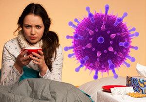 Chřipka kosí jižní Moravu: Pacientů přibývá, 4 bojují o život, nemocnice zavírají brány