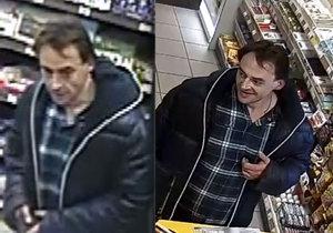 Pražská policie pátrá po muži, který patnáctkrát použil cizí platební kartu.