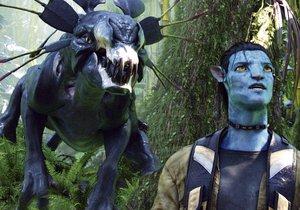 Záběry z prvního dílu filmu Avatar