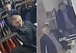 Zloději si na Žižkově napěchovali tašku oblečením a utekli.