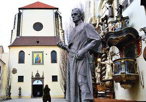 Jan Želivský kázal v kostele Panny Marie Sněžné