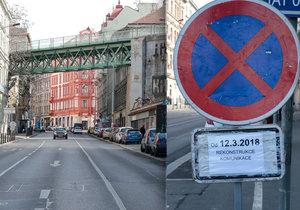 Od března do listopadu bude na Žižkově probíhat rekonstrukce Husitské ulice.
