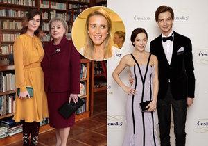 Veronika Kopřivová se zastala návrhářů Ponerových, kteří oblékli Ivanu a Kateřinu Zemanovou na Zemanovu inauguraci.