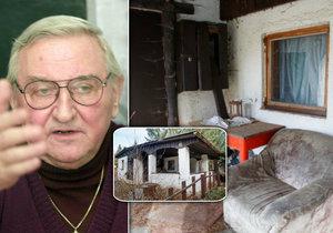 Milovaná chata Vlastimila Bedrny (†89): Vázne na ní milionová exekuce!