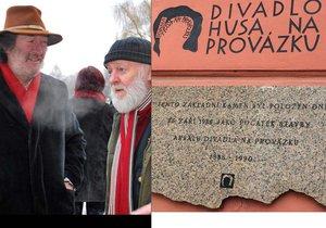 Legendární Husa slaví padesátku: Polívkovi i Pechovi řekněte, jak má divadlo vypadat