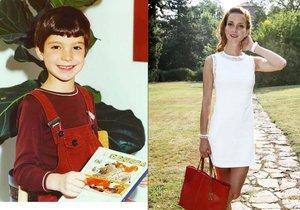 Maurerová se chlubí fotkou z dětství: Vypadala jako kluk!