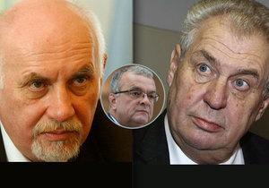 Nejvíce lidí věří Pavlu Rychetskému a Miloši Zemanovi. Nejméně Kalouskovi.