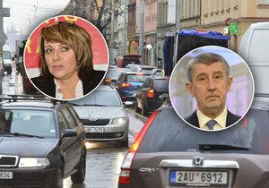 Andrej Babiš není spokojený s výrokem Adriany Krnáčové. Situaci je podle něj nutné řešit.