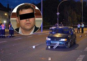 Řidič (24) dostal za smrt dvou malých chlapců, které autem srazil, podmínku.