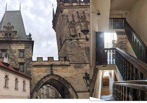 Juditina věž v Praze je historickou památkou, která existuje minimálně od 12. století.