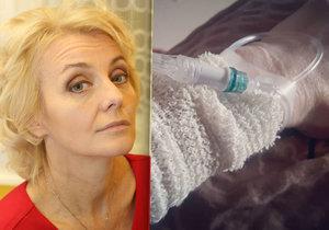 Veronika Žilková skončila v nemocnici!