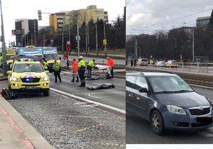 K tragické nehodě došlo v úterý odpoledne ve Švehlově ulici.