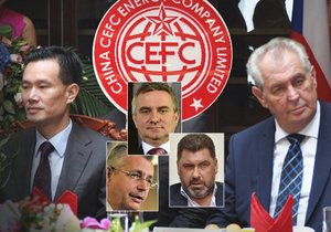 Kolem čínské mise Zemanových poradců je v Česku hodně rušno. Prezidenta kvůli placení rychle doplňoval Jaroslav Tvrdík.