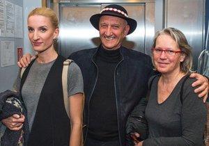 Adela Banášová se svými rodiči, otcem Jozefem a matkou Máriou