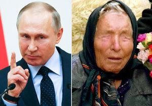 Předpověděla Baba Vanga současný vzestup Ruska Vladimira Putina?