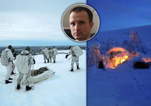 Hasič Jiří Kubeš se zúčastnil náročného mezinárodního cvičení pro boj v arktických podmínkách.