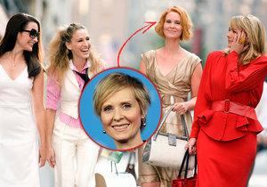 Cynthia Nixonová alias Miranda ze Sexu ve městě chce být guvernérkou státu New York.