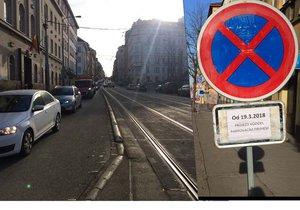 V Seifertově ulici znovu jezdí plynule tramvaje. Kolony už se týkají jenom automobilů.