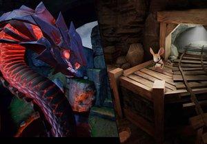 Moss je kouzelná pohádka a zároveň výborná videohra pro PlayStation VR.