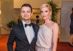 Adela Banášová a její manžel Viktor Vincze