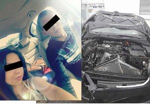 Sandra s Patrikem se podruhé narodili: Jejich oktávku zničila dvě kola, upadla z jiného auta!