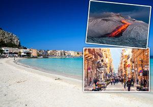 Sicílie je úchvatná.