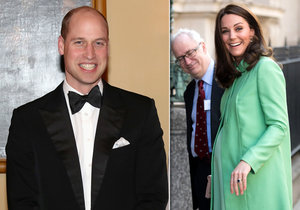 Princ William o těhotné vévodkyni: Kate může porodit každou minutou!