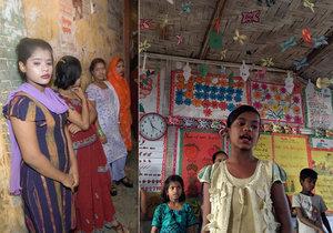 Rohingské dívky mizí z uprchlických táborů. Pracují pak jako prostitutky.