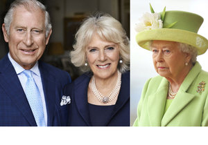 Královna Alžběta II. nemohla Camille přijít na jméno.