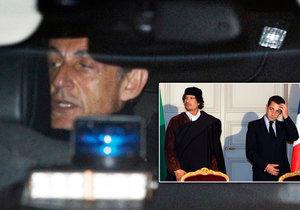 Exprezident Sarkozy je pod soudním dohledem. Problémy má kvůli někdejším penězům z Kaddáfího Libye?